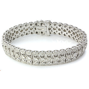 ► Bonus 01x02, Party from adult. Importante-pulsera-brazalete-de-brillantes-y-oro-blanco-d23370380